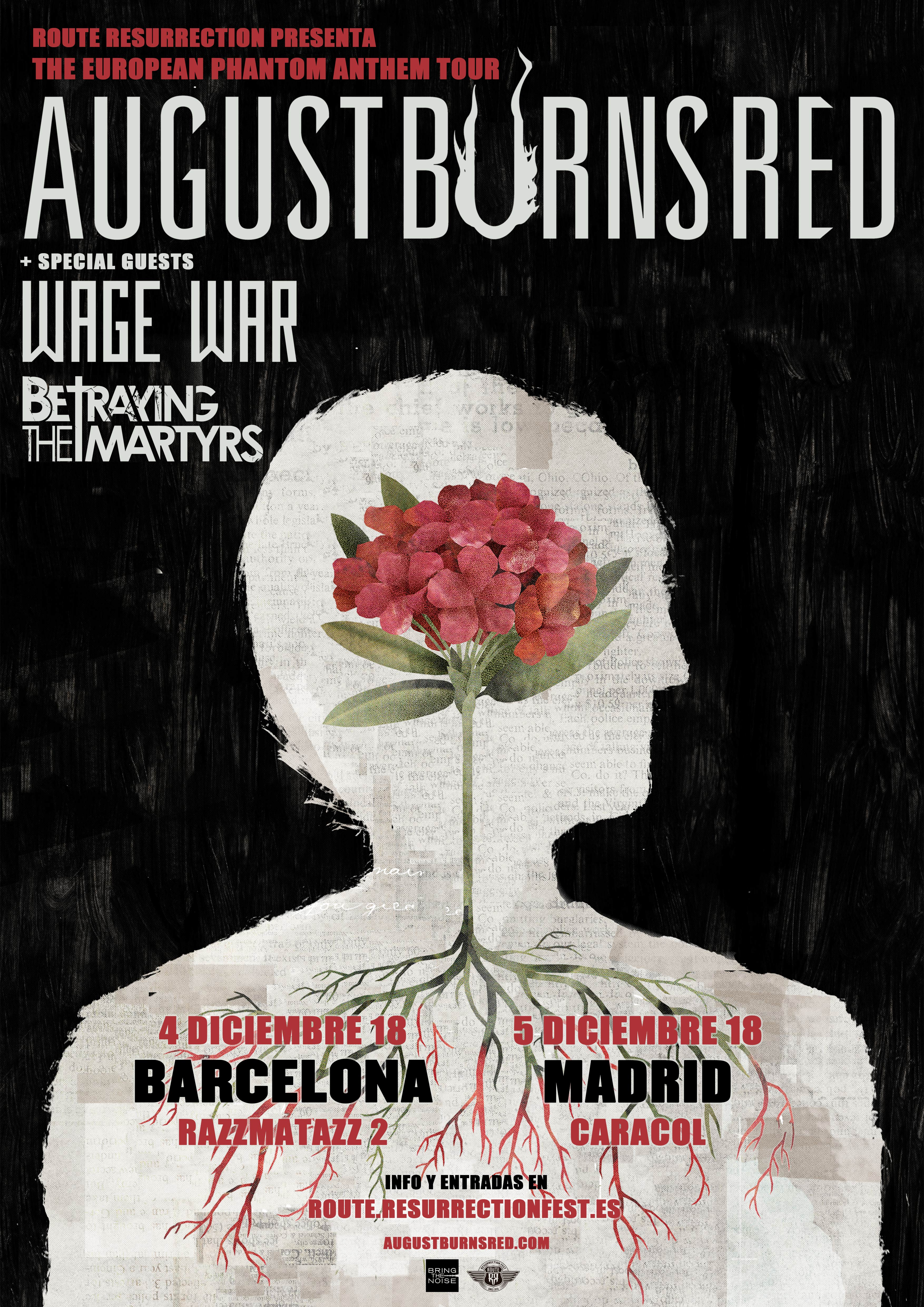 Route Resurrection 2019: August Burns Red (Madrid)