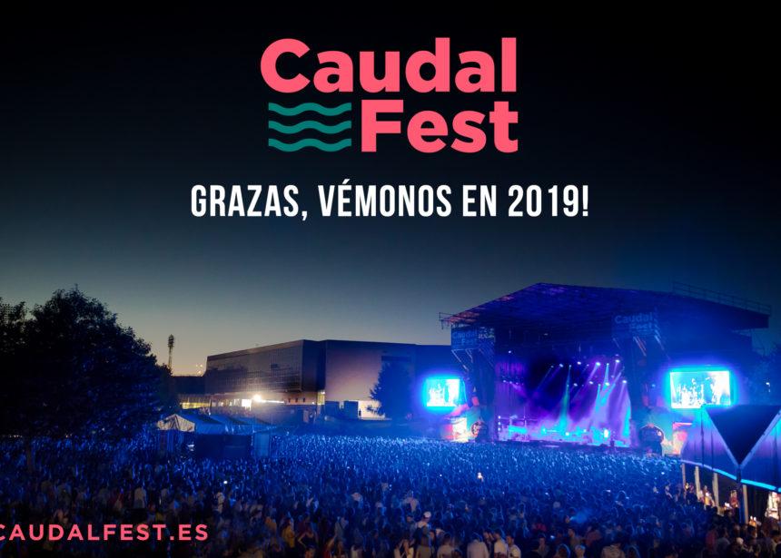 GRACIAS POR CONVERTIR AL CAUDAL FEST EN UNO DE LOS PRINCIPALES FESTIVALES DE GALICIA