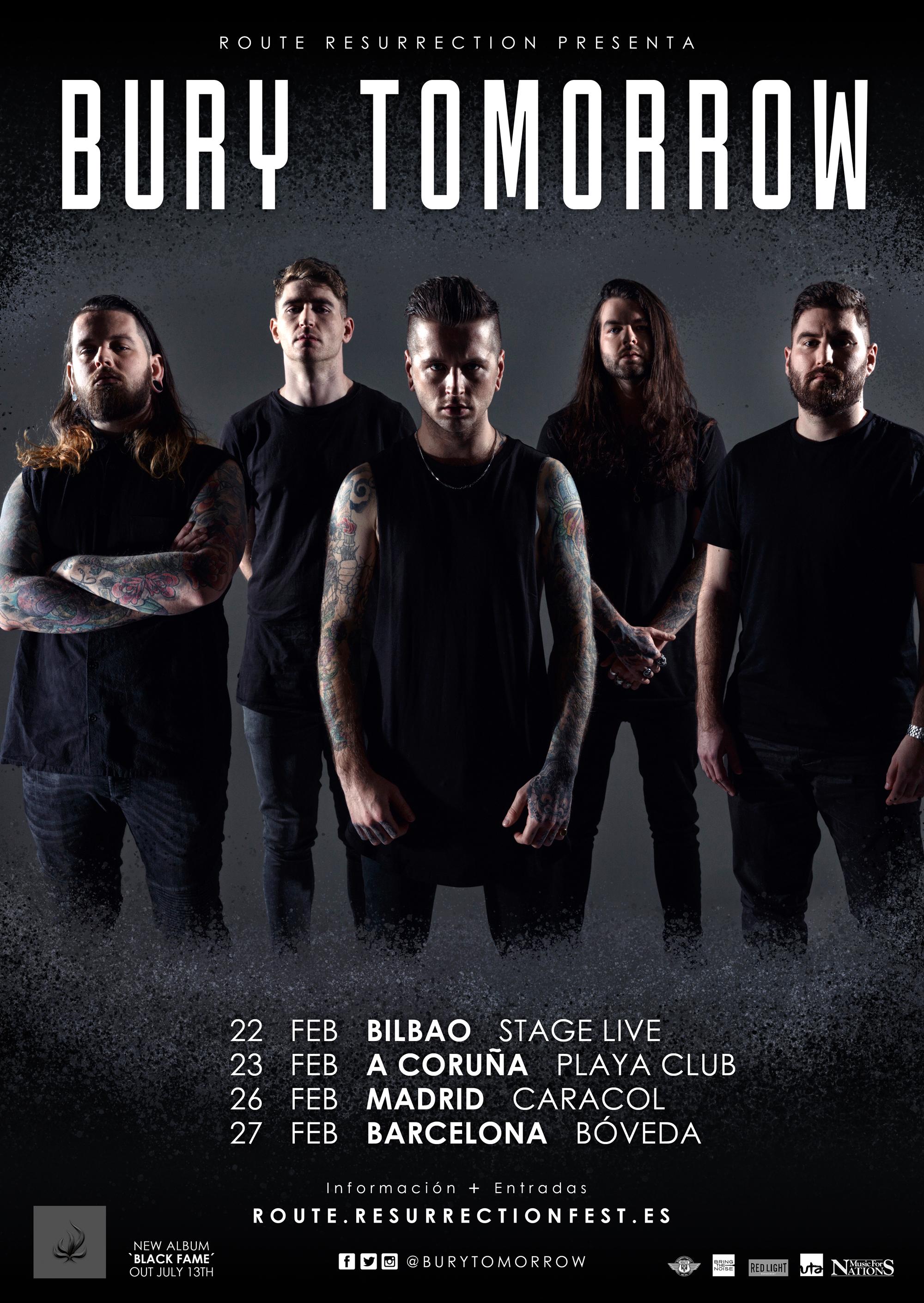 Route Resurrection 2019: Bury Tomorrow (Madrid)