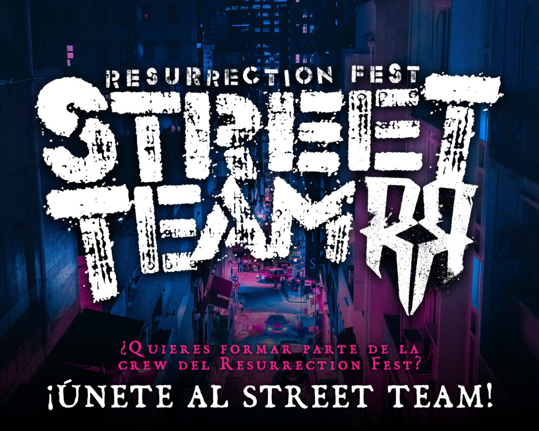 ¡ABRIMOS INSCRIPCIONES PARA EL RESURRECTION FEST STREET TEAM 2019!