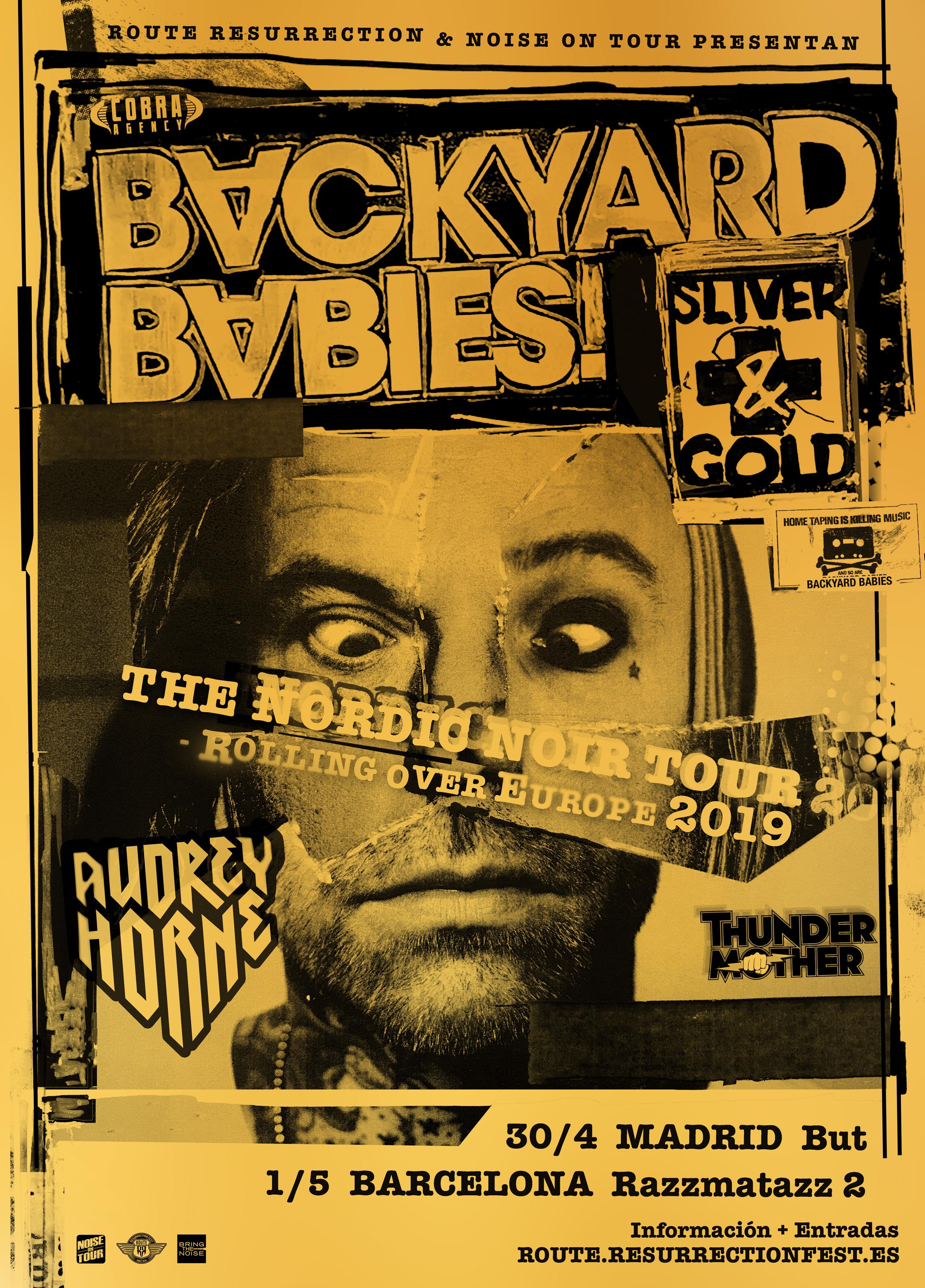 Route Resurrection 2019: Backyard Babies (Barcelona)