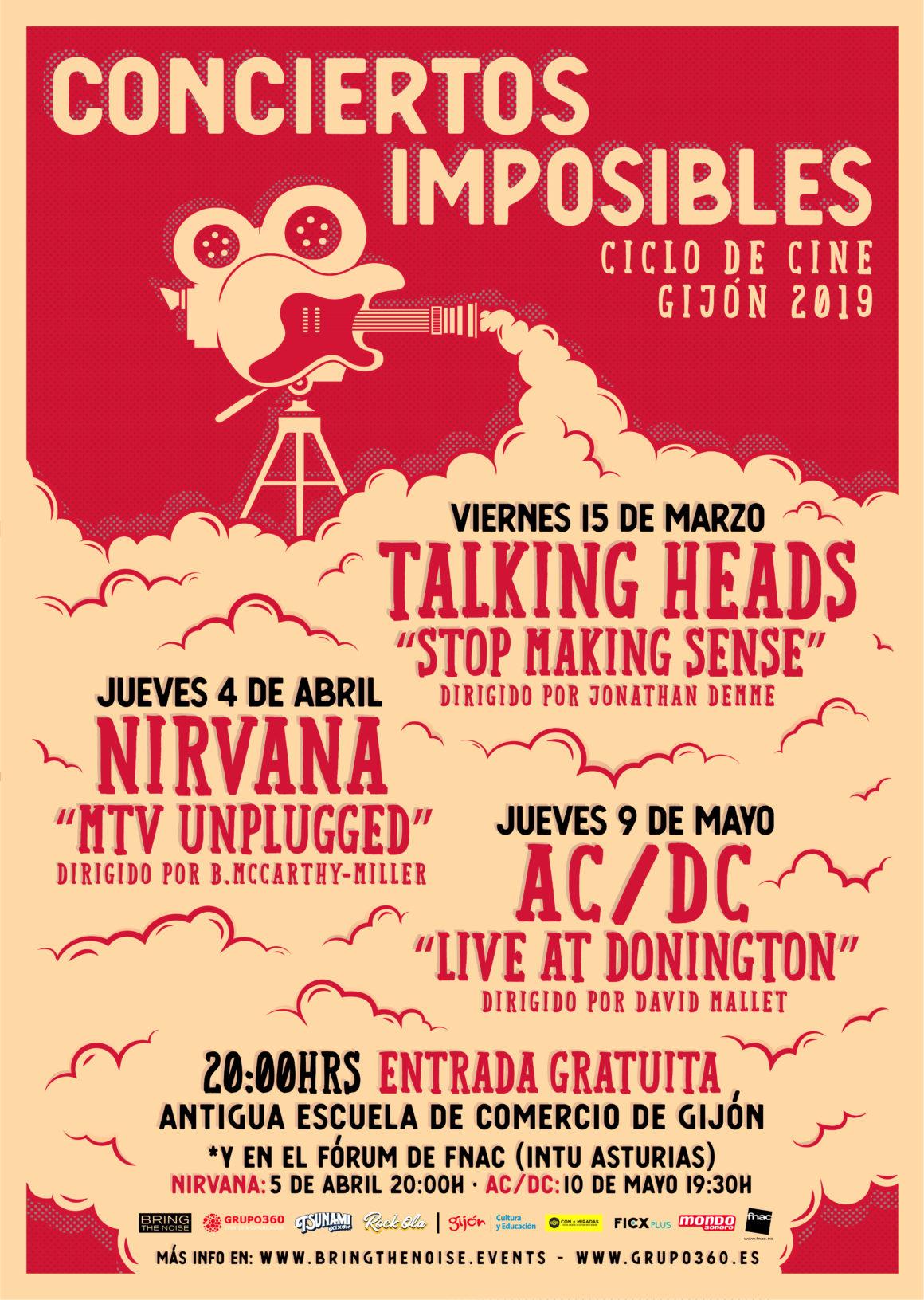 Conciertos Imposibles Gijón 2019