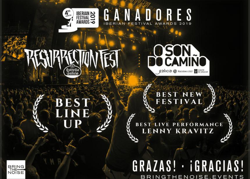 Resurrection Fest y O Son do Camiño, ganadores en los Iberian Festival Awards 2019