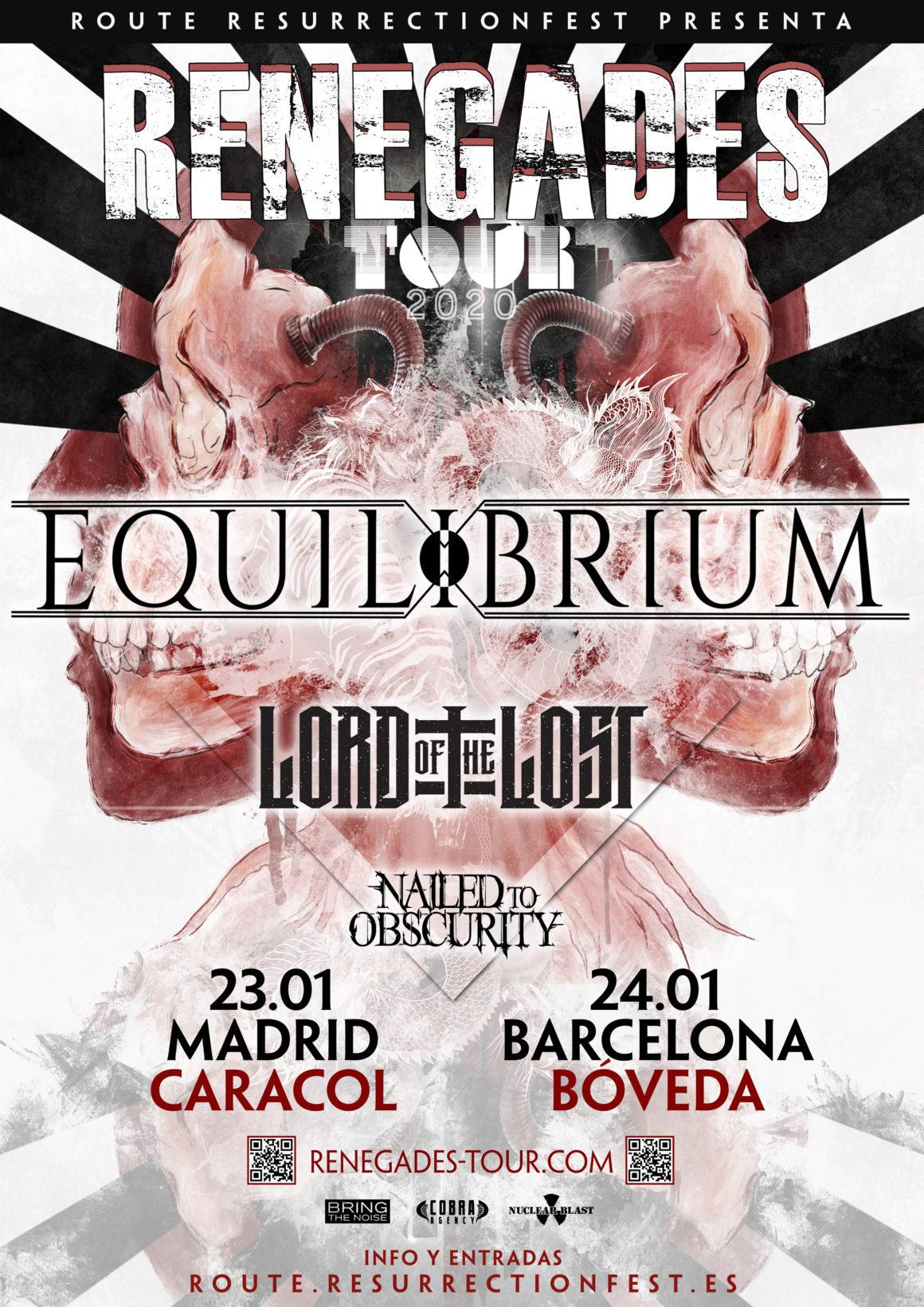 Nueva gira Route Resurrection: Equilibrium