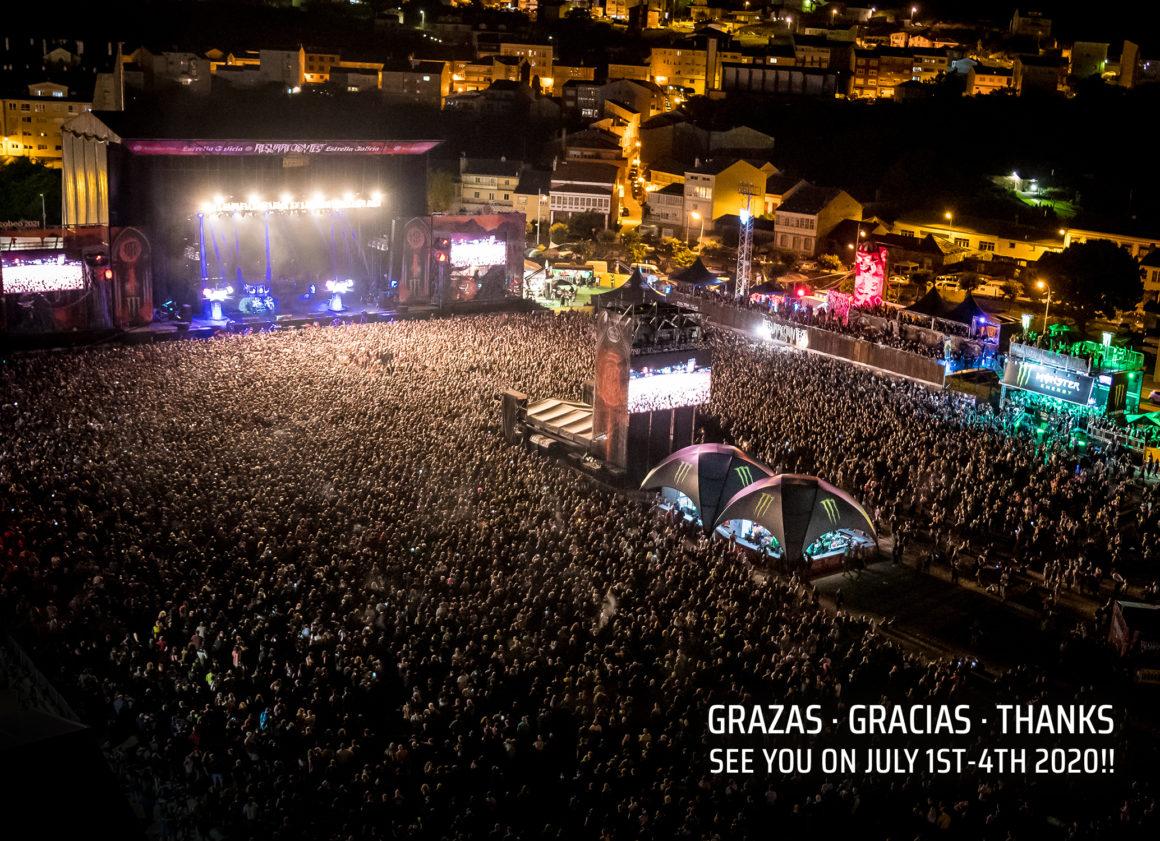 El Resurrection Fest Estrella Galicia 2019 ha finalizado