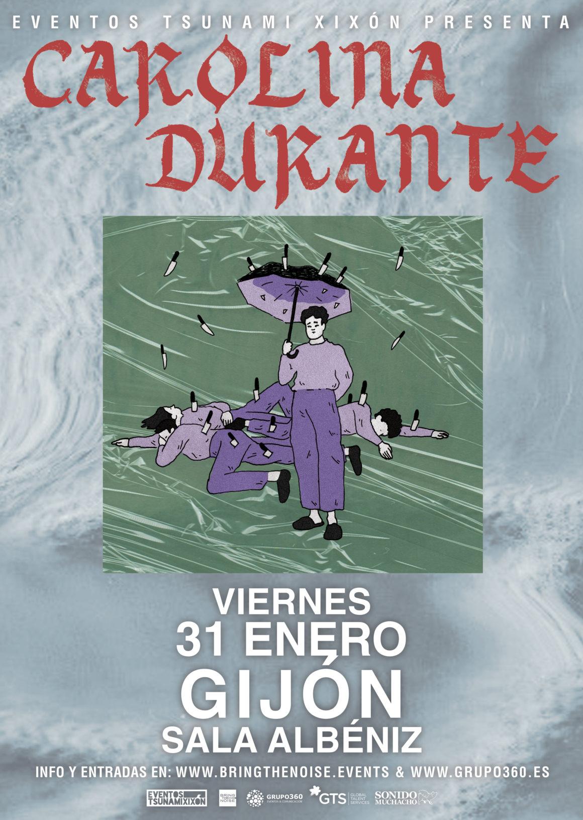 Carolina Durante presentará su nuevo disco en Gijón el próximo viernes 31 de enero