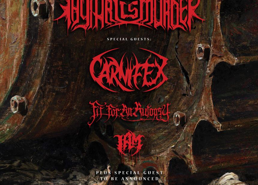 Nueva gira Route Resurrection: Thy Art Is Murder vuelve a España para presentar su nuevo disco «Human Target»