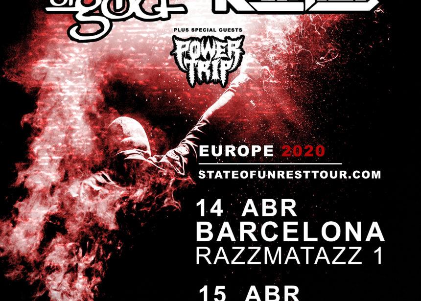 Nueva gira Route Resurrection: Lamb of God y Kreator vienen a España de gira como cabezas de cartel junto a Power Trip