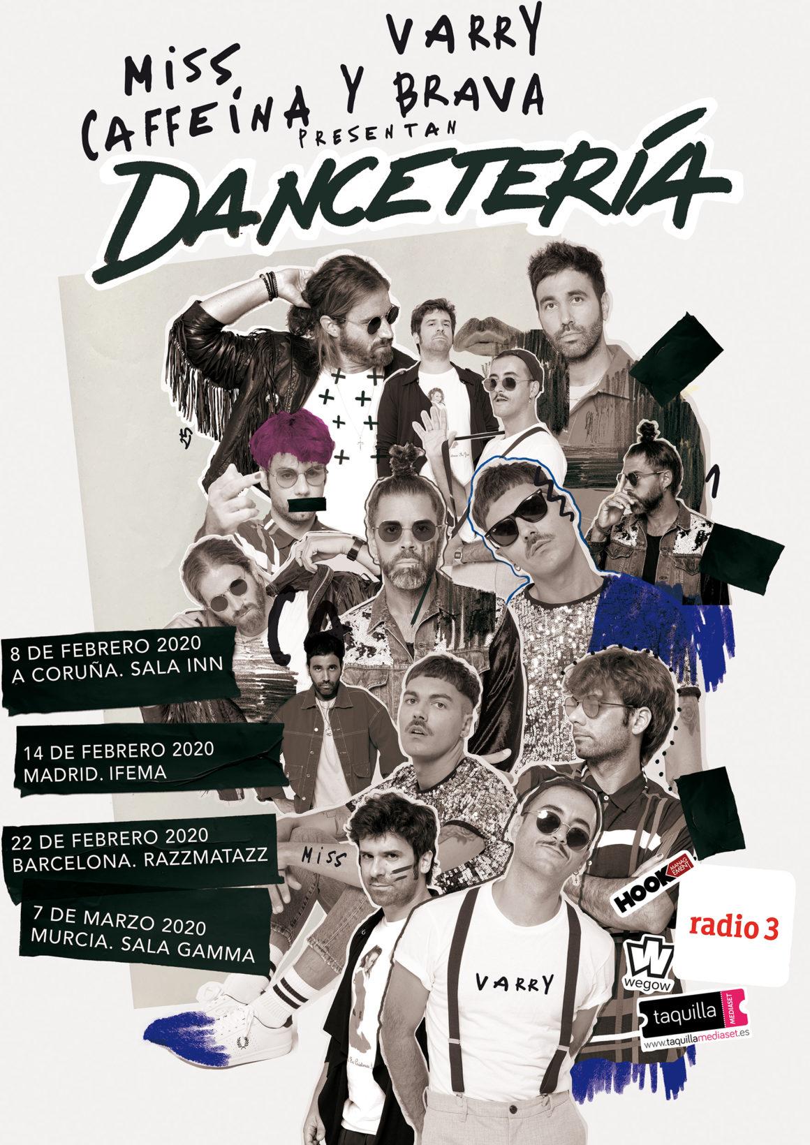 MISS CAFFEINA y VARRY BRAVA presentan «DANCETERÍA» en A Coruña, una gira única y conjunta