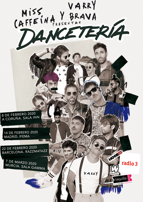 MISS CAFFEINA y VARRY BRAVA presentan «DANCETERÍA» en A Coruña