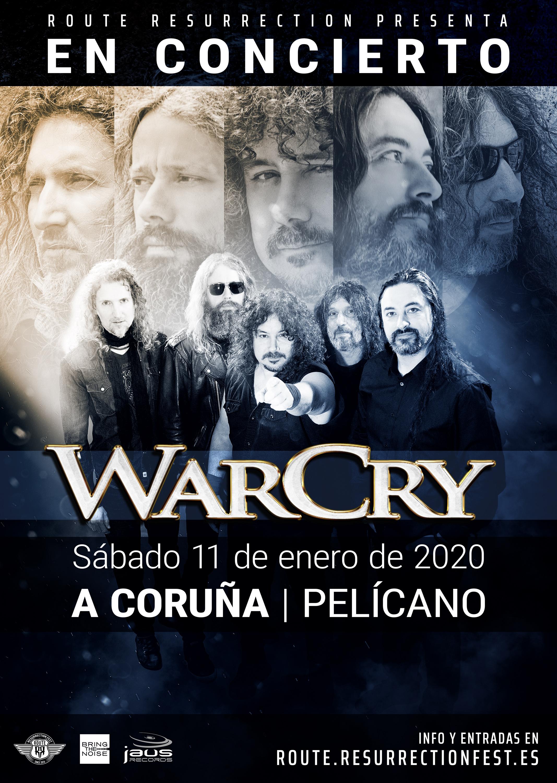 WarCry – Fin de gira en A Coruña