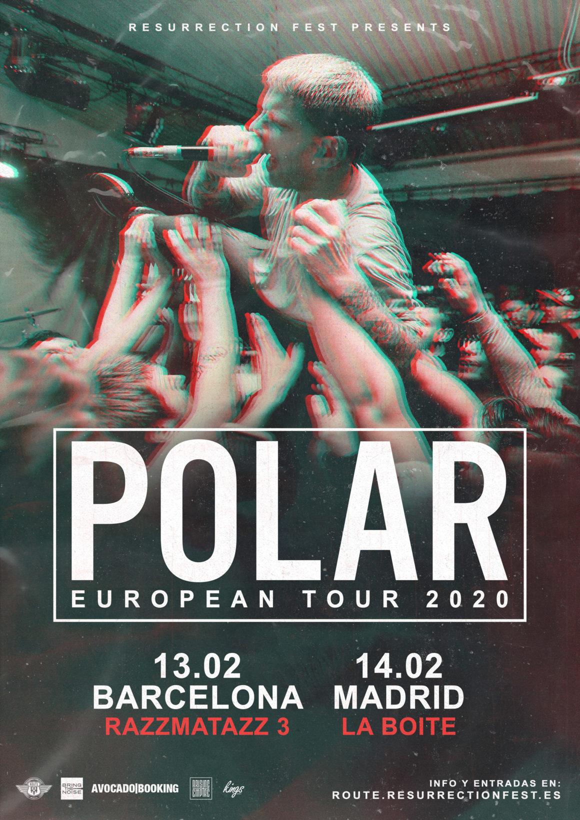 Nueva gira Route Resurrection: ¡Polar vienen a España!