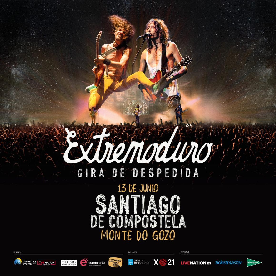 La gira de despedida de Extremoduro pasará por Santiago de Compostela