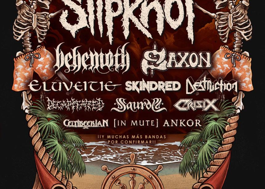 Slipknot encabezará el festival Metal Paradise de Fuengirola