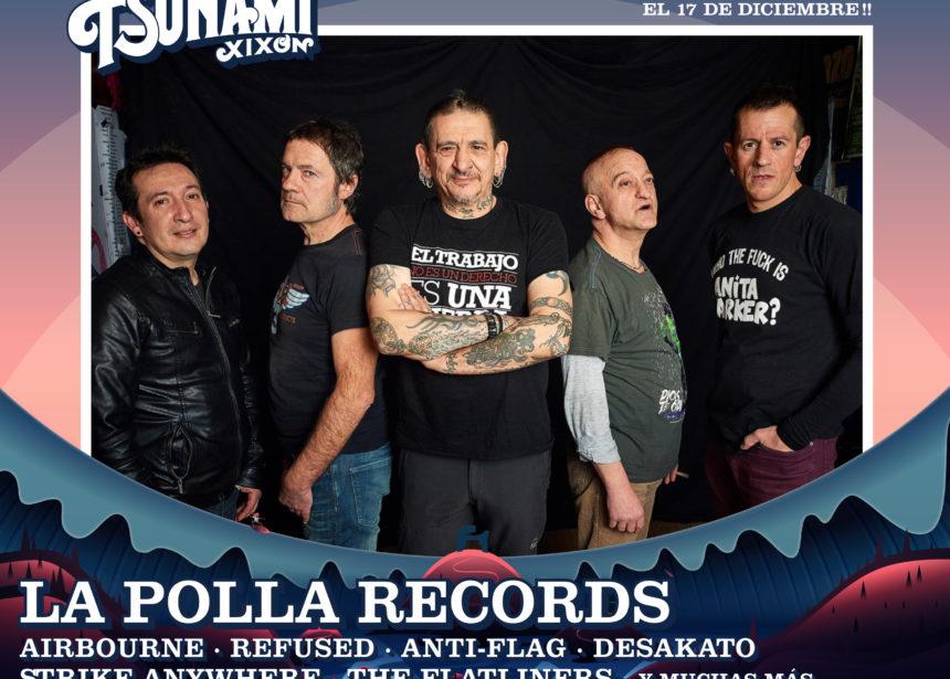 ¡La Polla Records, confirmados como cabezas de cartel del Tsunami Xixón 2020!