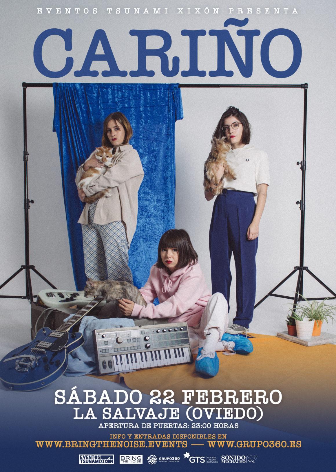 Cariño actuará en Oviedo el próximo sábado 22 de febrero, entradas ya están a la venta