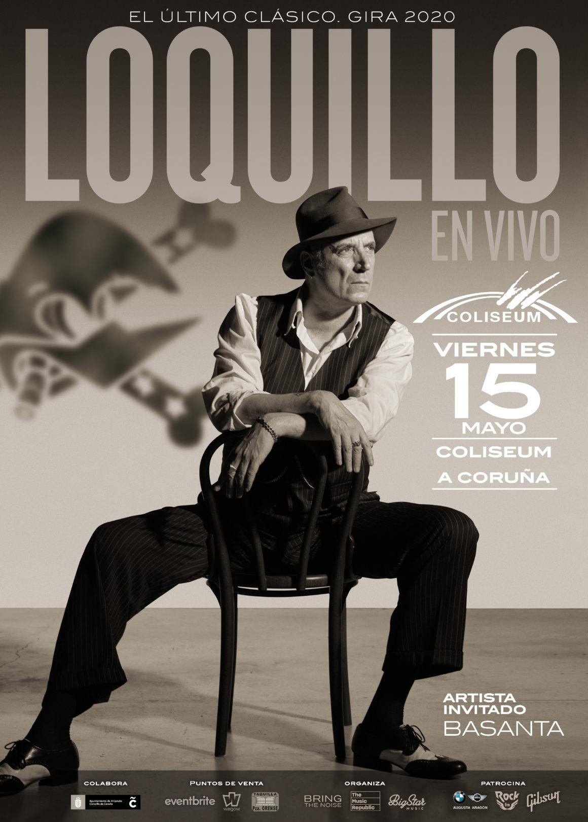 Loquillo presenta su nuevo disco «El Último Clásico» en el Coliseum de A Coruña