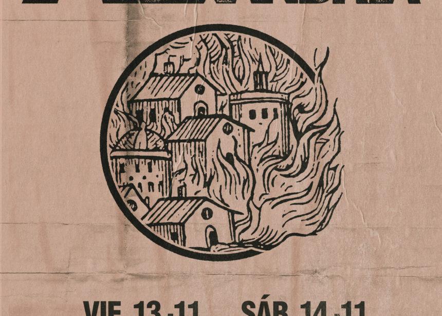 Nueva gira Route Resurrection: Asking Alexandria vuelven a España a presentar su nuevo disco «Like a House on Fire»