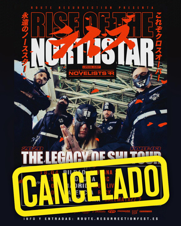 Cancelada la gira de Rise of the Northstar