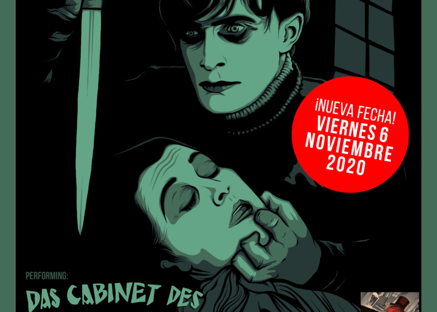 Nueva fecha para Toundra presentando «Das Cabinet Des Dr. Caligari» en Gijón: 6 de noviembre