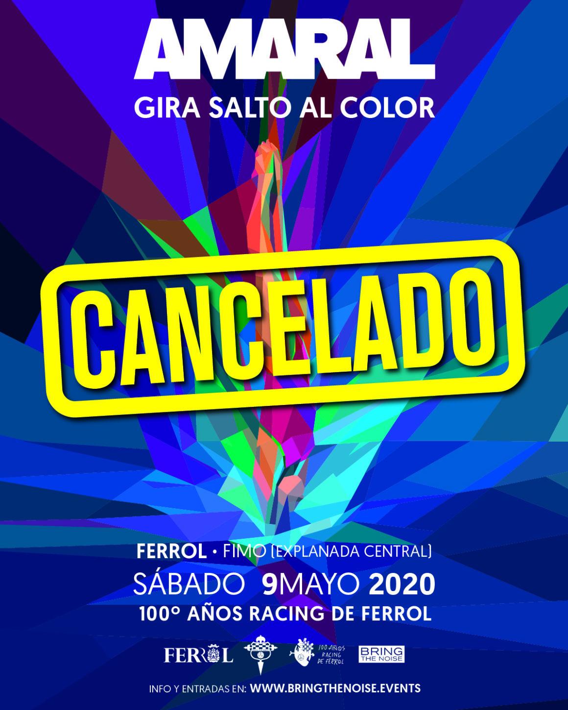 Concierto de Amaral en Ferrol por el centenario del Racing cancelado