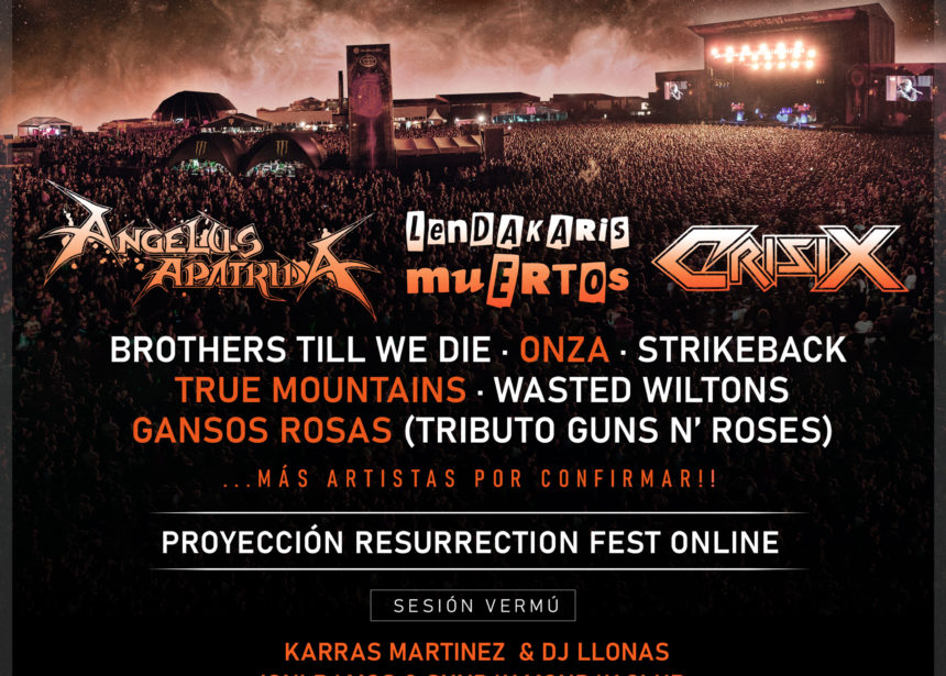 Se presenta el Resurrection Fest Estrella Galicia XS, un ciclo de conciertos seguros de aforo reducido en Viveiro