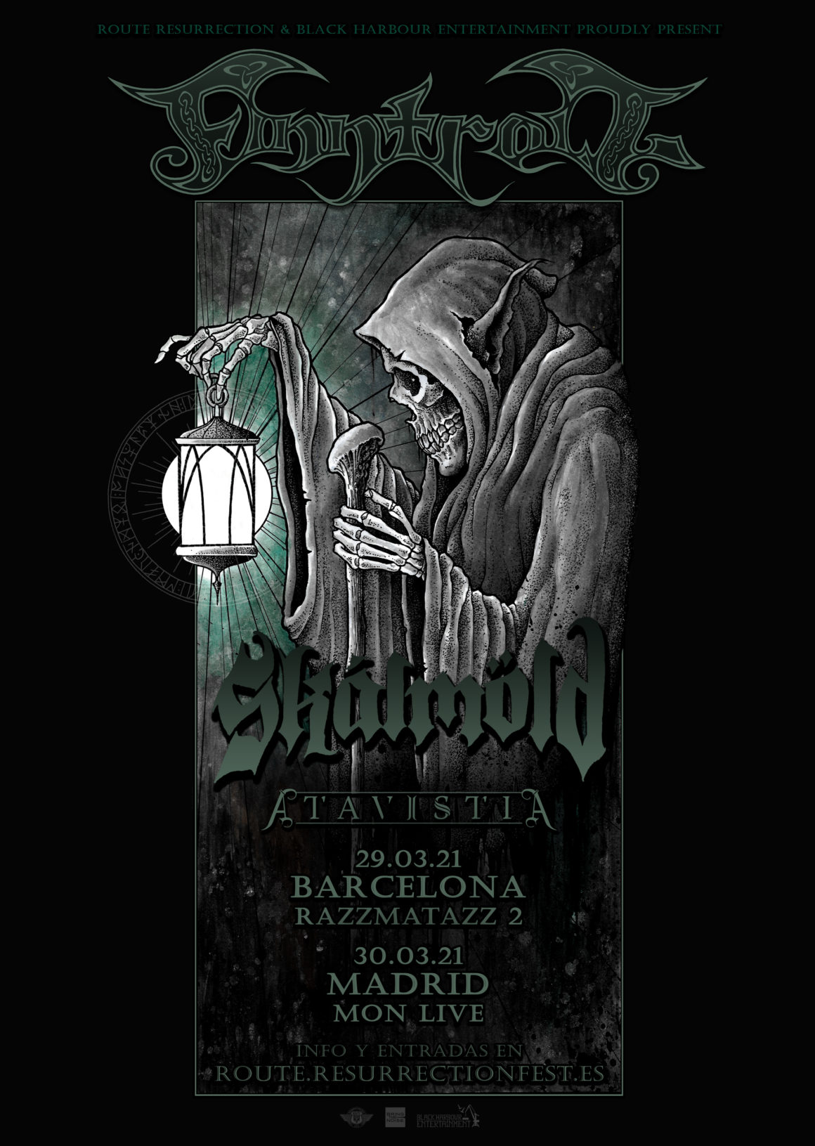 """Nueva gira Route Resurrection: Finntroll presentarán en España su nuevo disco """"Vredesvävd"""""""