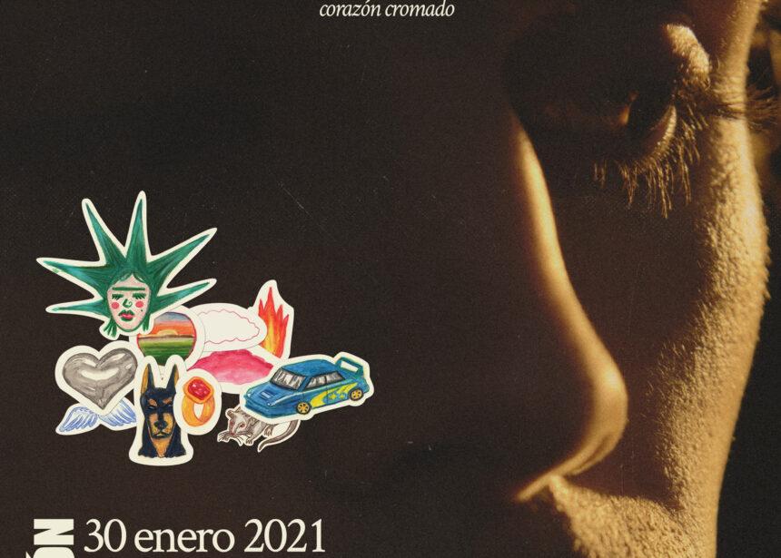 Sen Senra presentará su EP «Corazón Cromado» en Gijón
