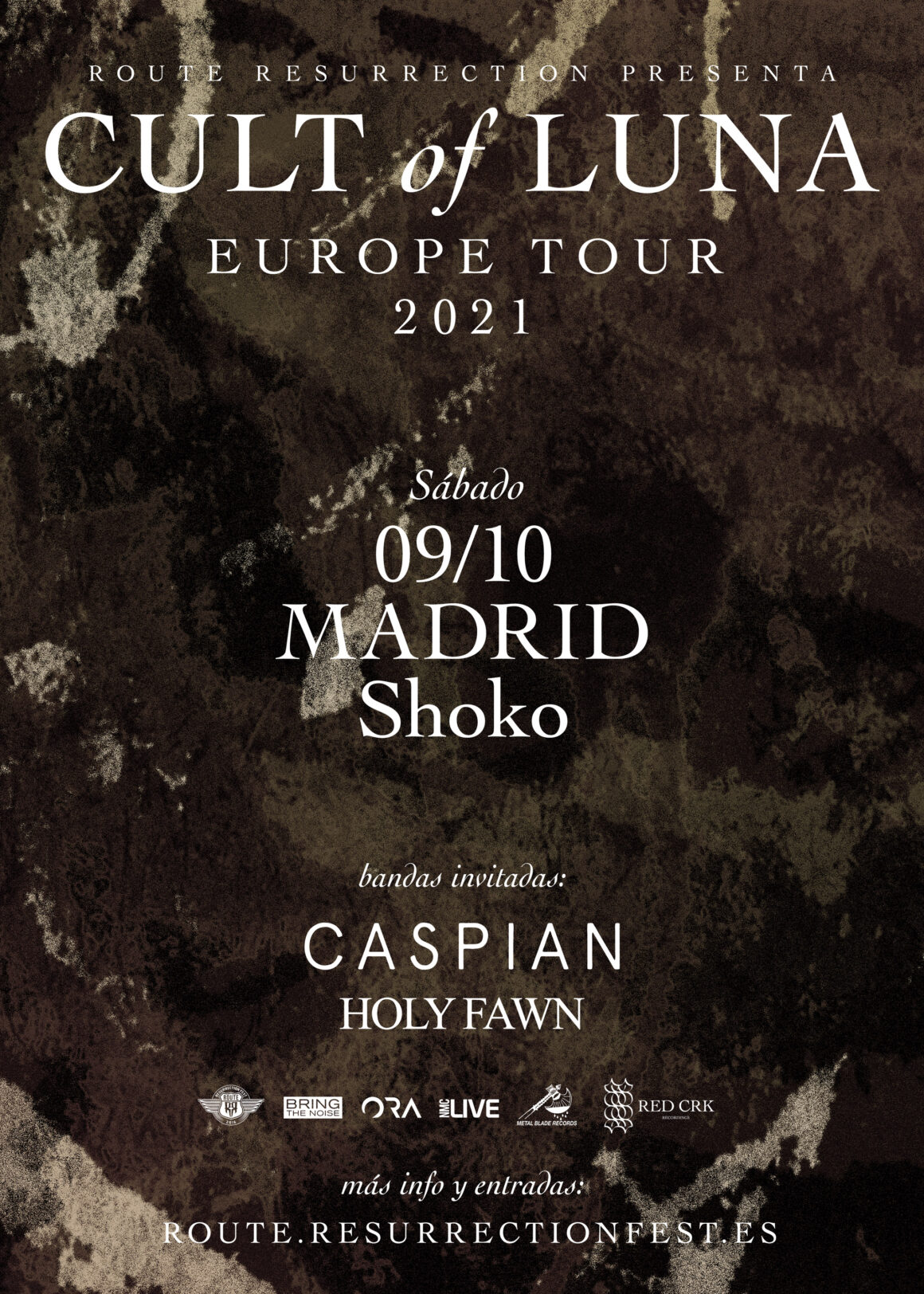 Route Resurrection: Cult of Luna vuelve a España dentro de su gira por salas para presentar «The Raging River», su último trabajo