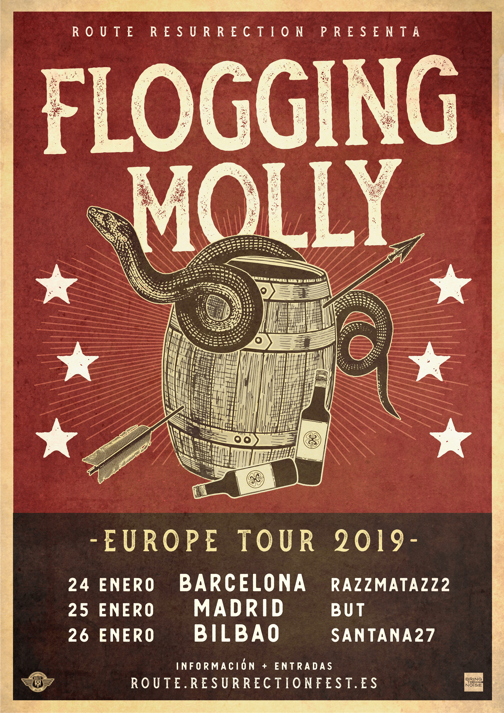 Route Resurrection 2019: Flogging Molly (Madrid)