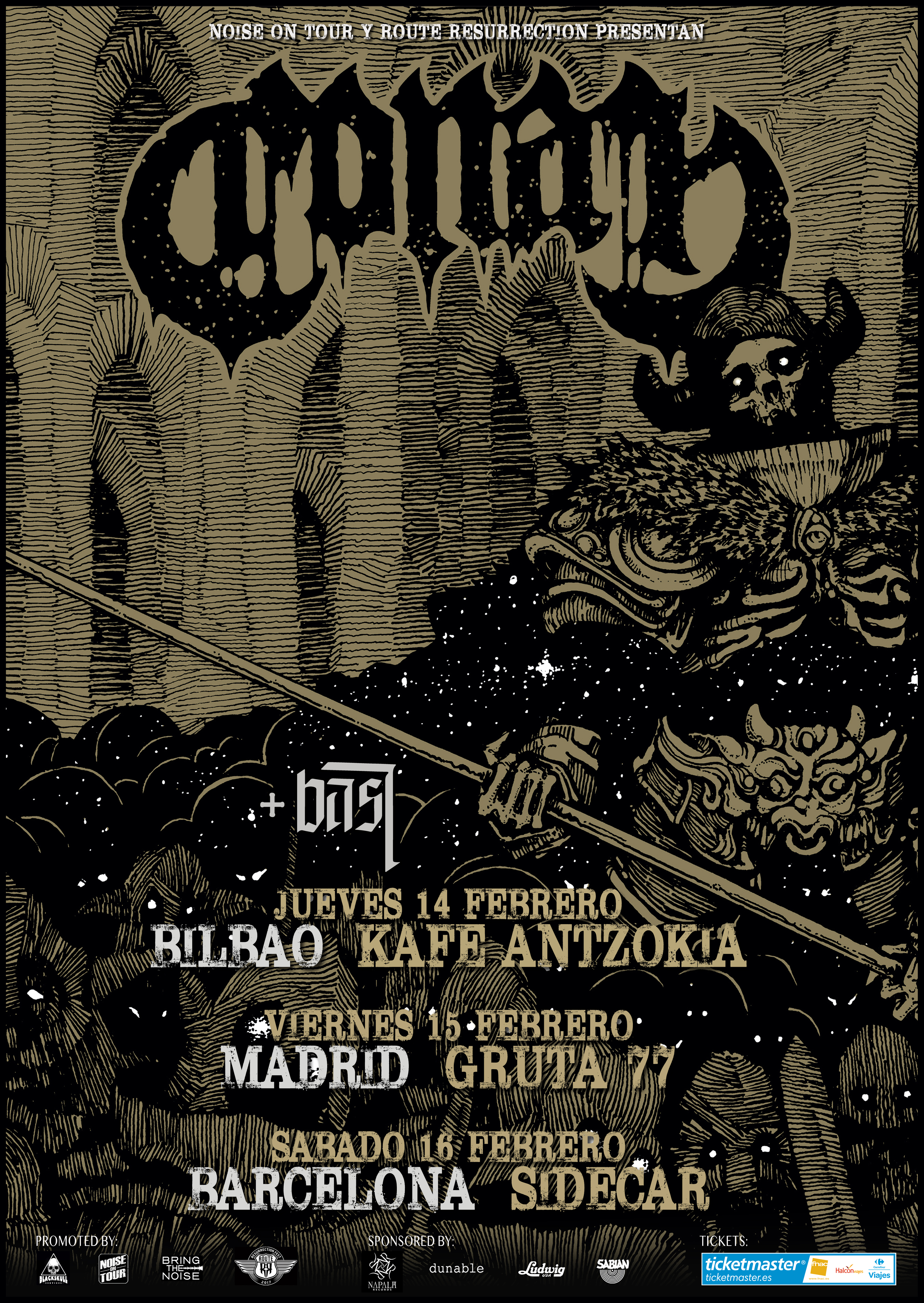 Route Resurrection 2019: Conan (Bilbao)