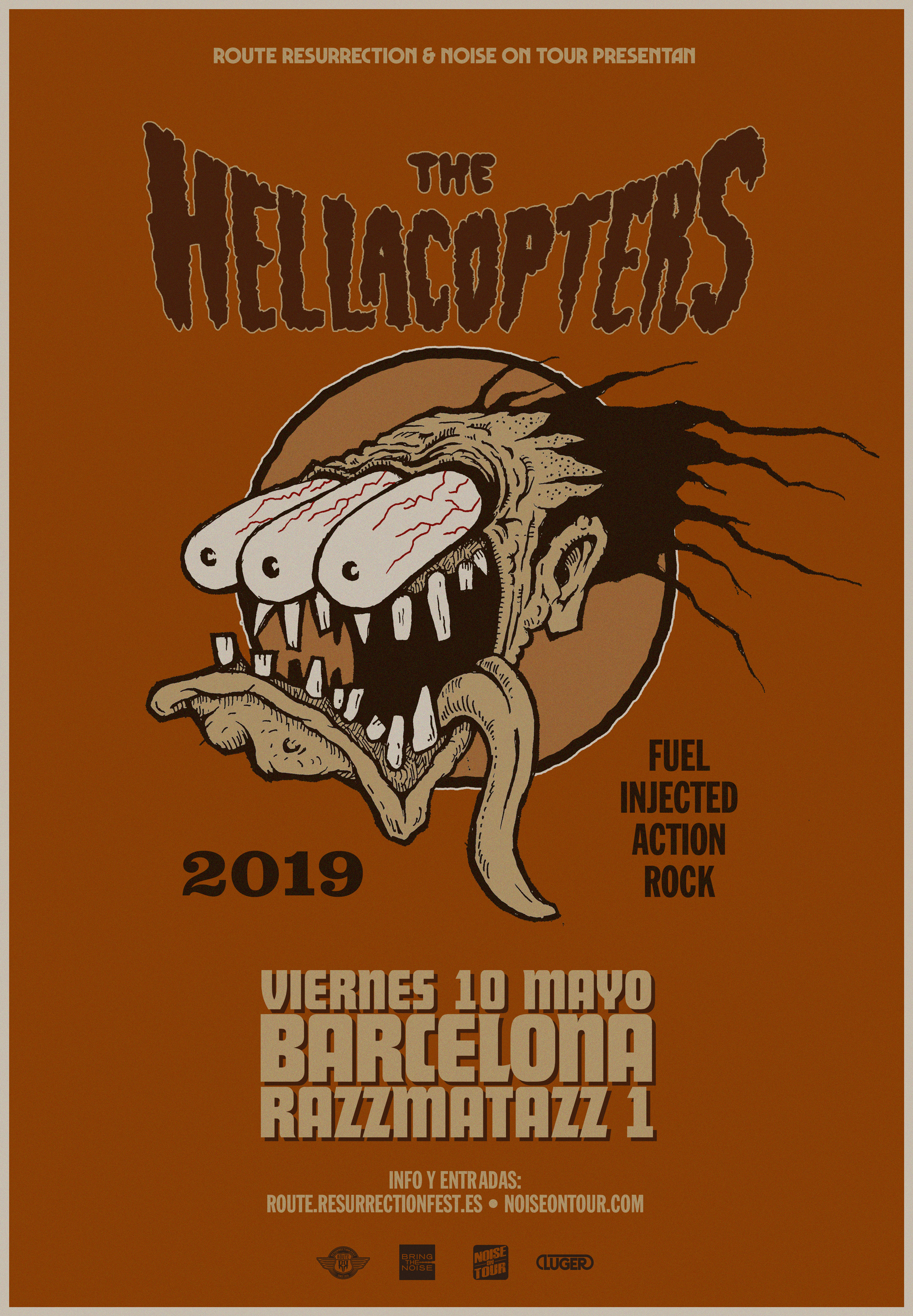 Route Resurrection 2019: The Hellacopters (Barcelona)