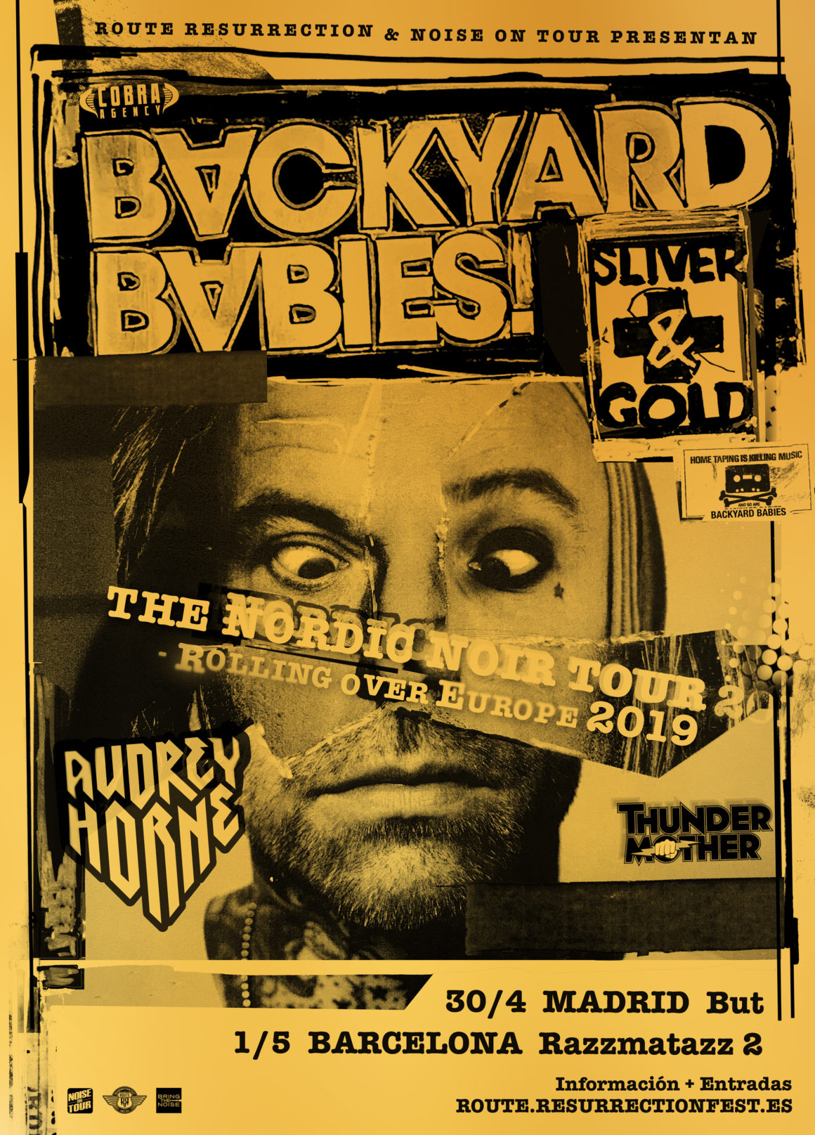 Nueva gira Route Resurrection: Backyard Babies