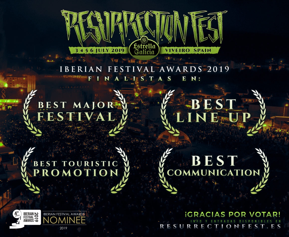 Resurrection Fest y O Son do Camiño finalistas en los Iberian Festival Awards