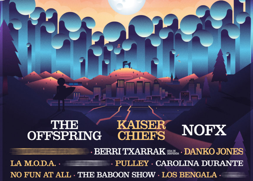 The Offspring, Kaiser Chiefs y Nofx encabezarán el Tsunami Xixón 2019