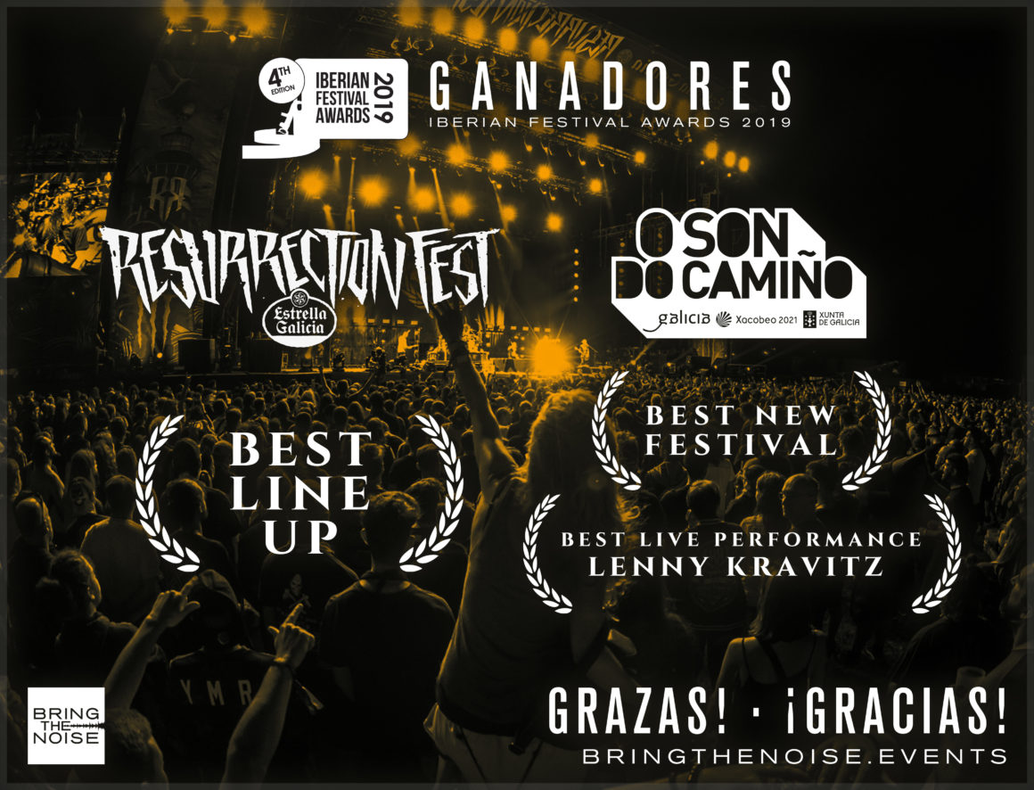 Resurrection Fest y O Son do Camiño, ganadores en los Iberian Festival Awards 2019
