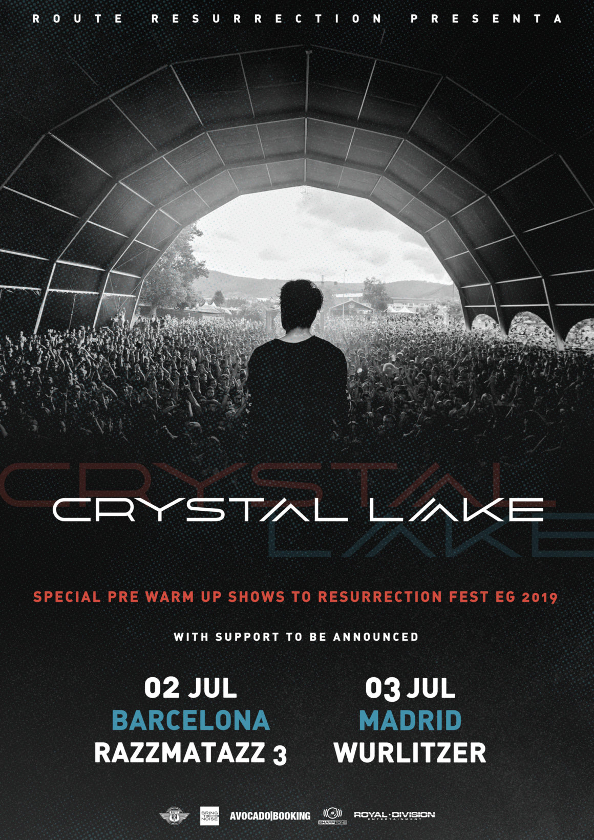 Nueva gira Route Resurrection: Crystal Lake