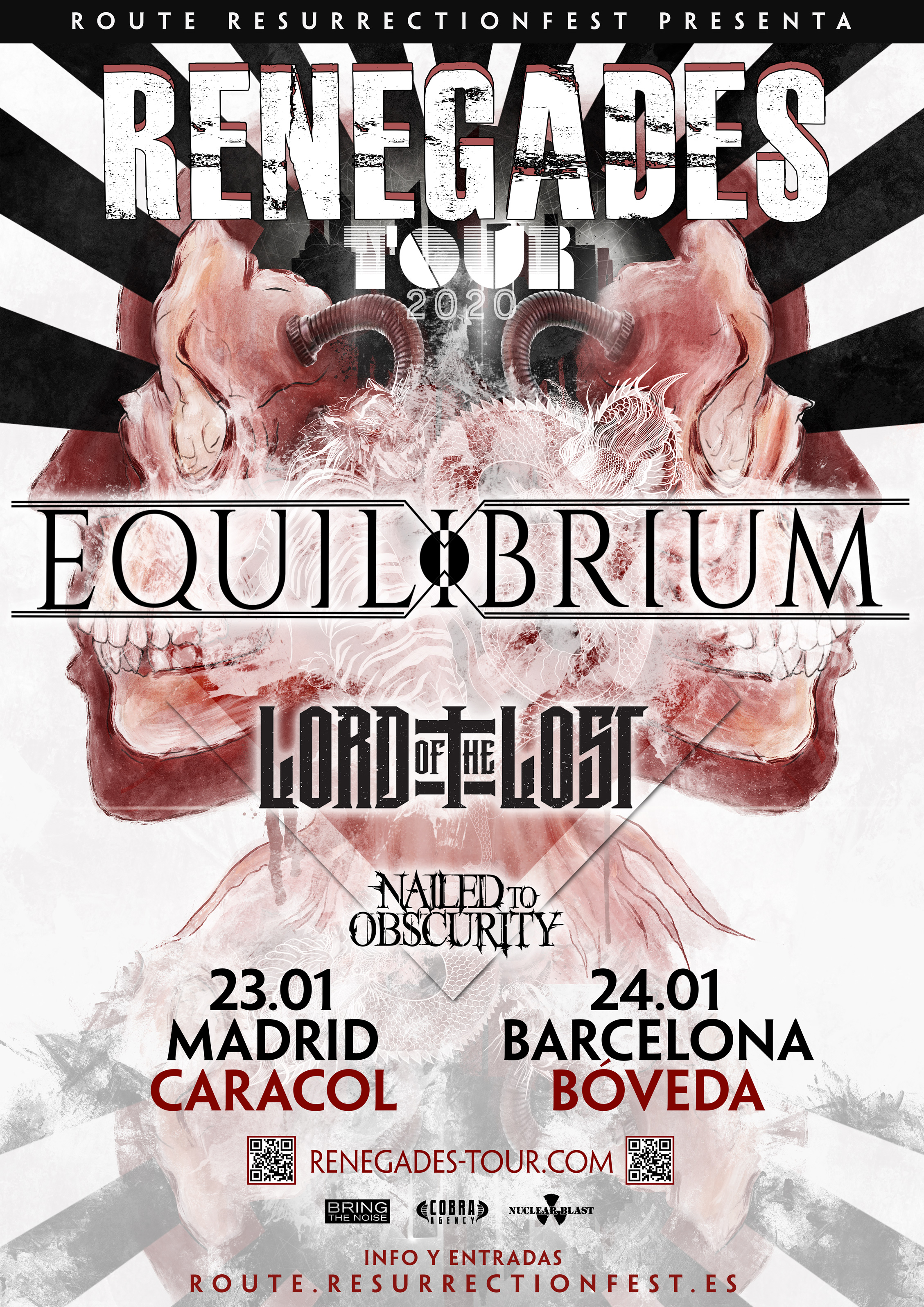 Route Resurrection 2020: Equilibrium (Barcelona)