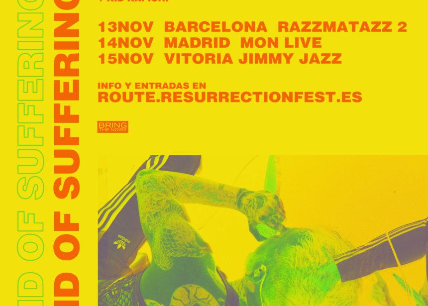 Nueva gira Route Resurrection: Frank Carter & The Rattlesnakes