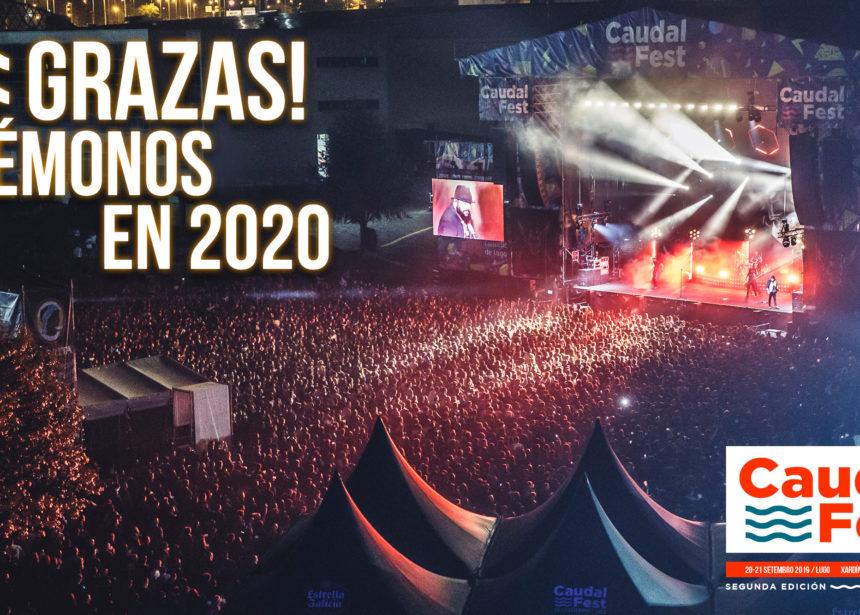 ¡El Caudal Fest 2019 ha finalizado! ¡Nos vemos en 2020 en el Concello de Lugo!