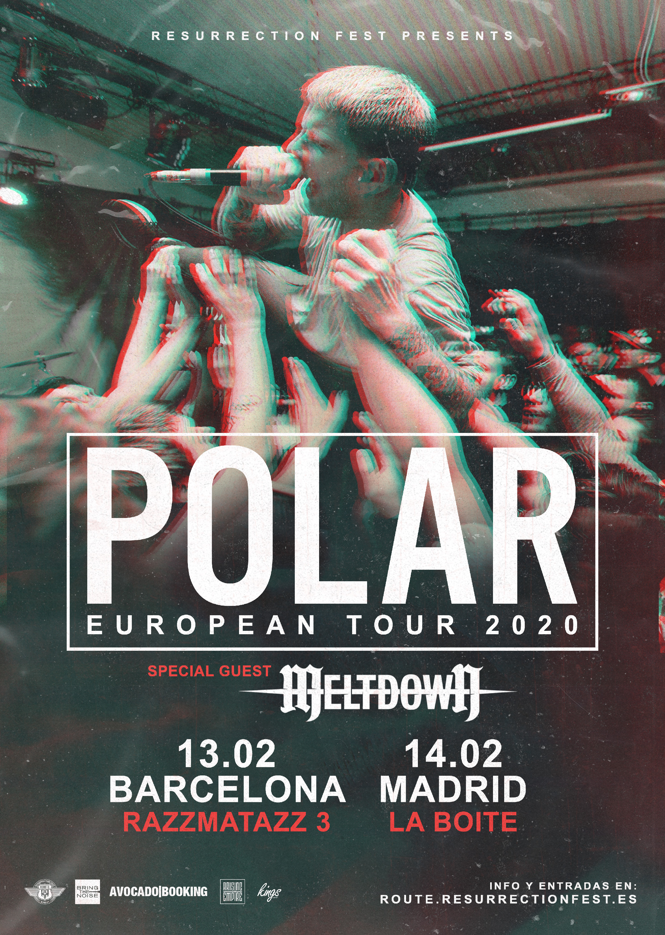 Route Resurrection 2020: Polar (Madrid)