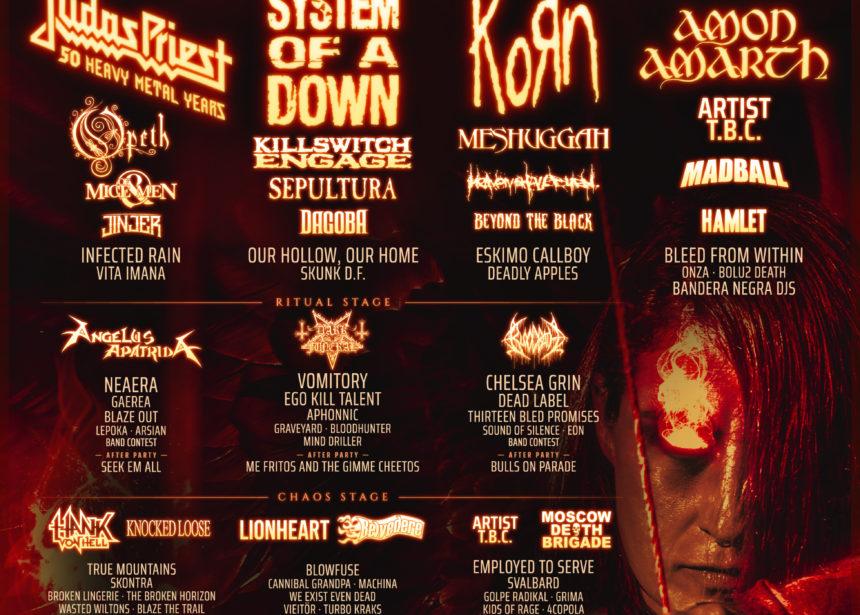 Nuevas bandas y cartel por días del Resurrection Fest Estrella Galicia 2020