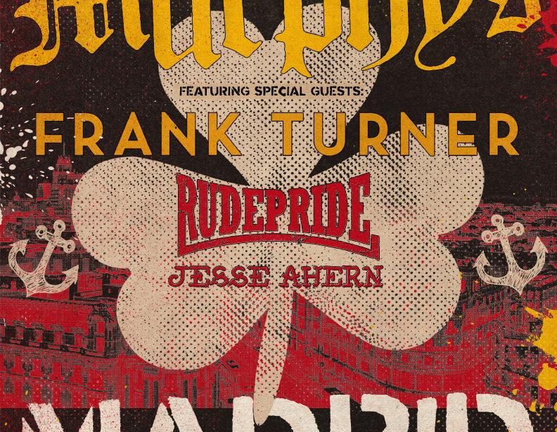 Nuevo concierto Route Resurrection: ¡Dropkick Murphys vuelven a España con un único concierto en Madrid!