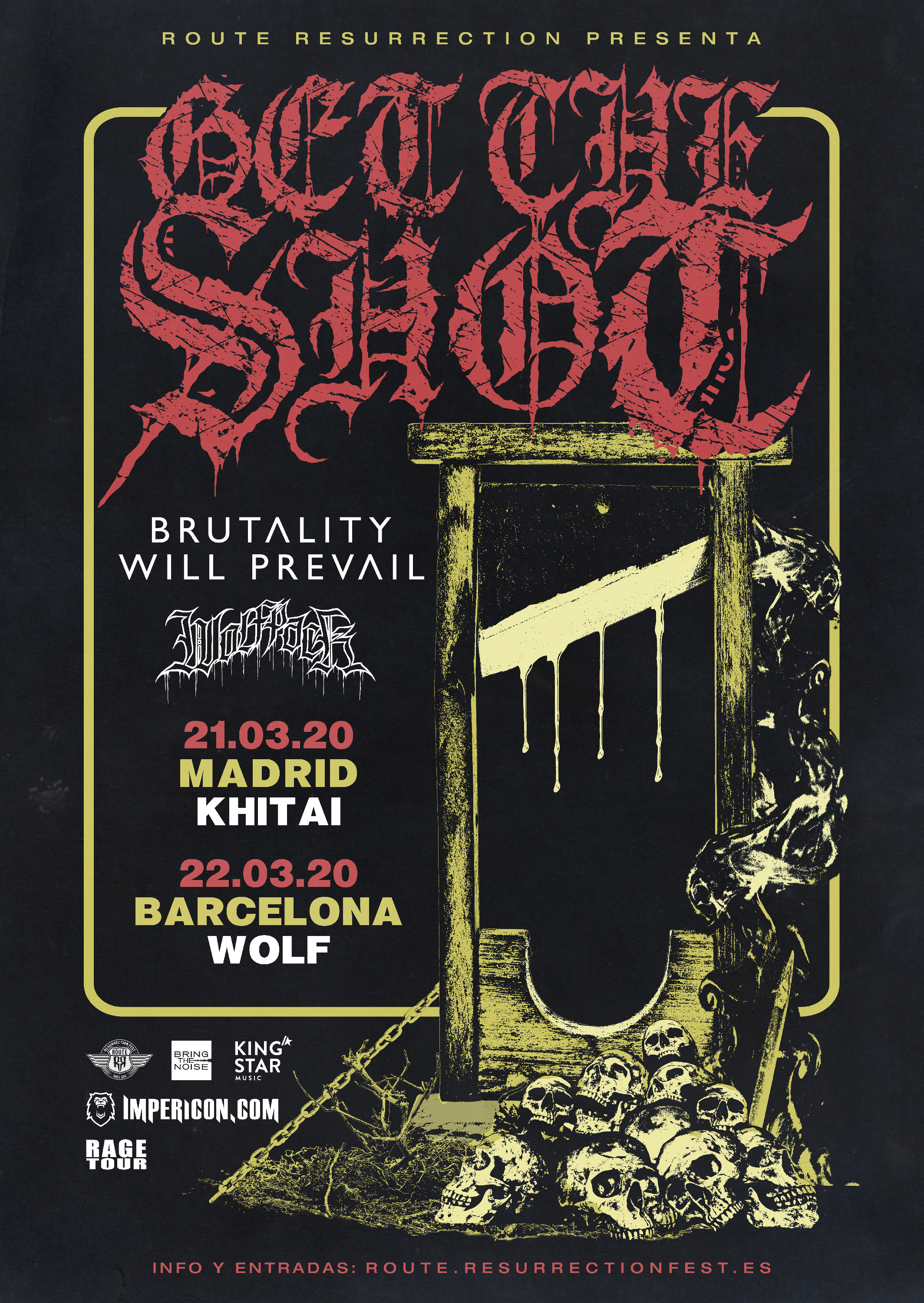 Route Resurrection 2020: Get The Shot (Madrid)