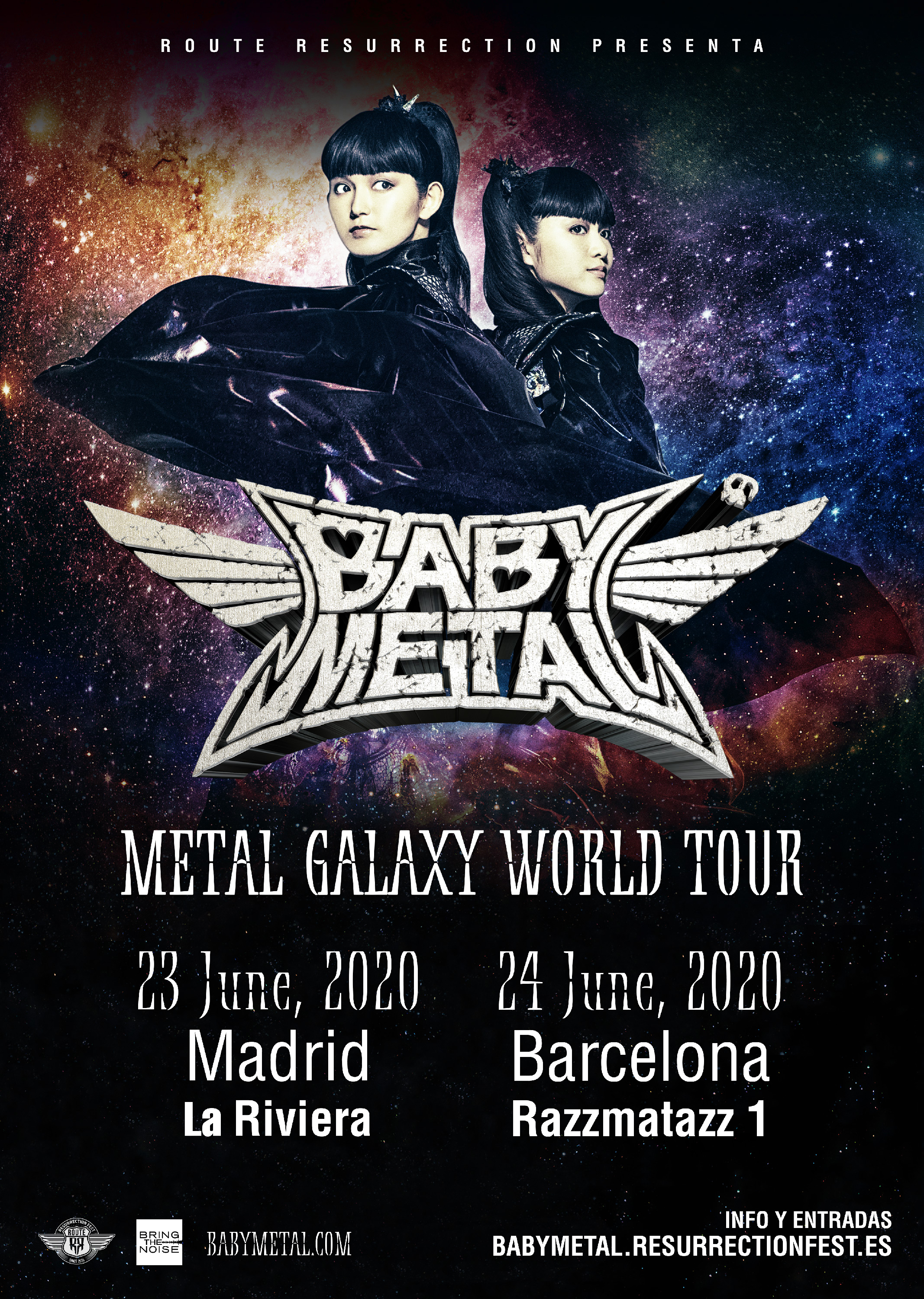 Route Resurrection 2020: Babymetal (Madrid)