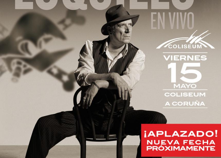 Aplazado el concierto de Loquillo en A Coruña