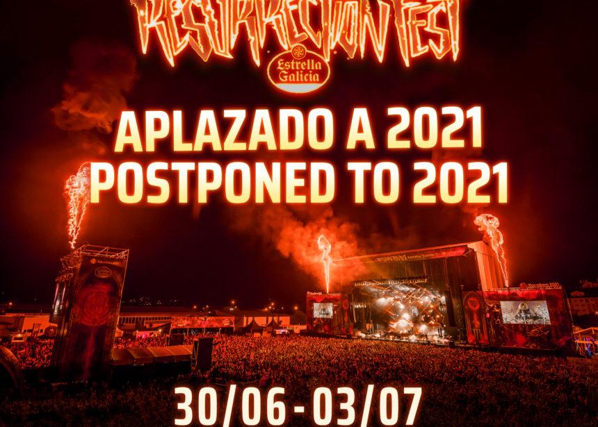 Comunicado oficial: el Resurrection Fest Estrella Galicia se aplaza a 2021