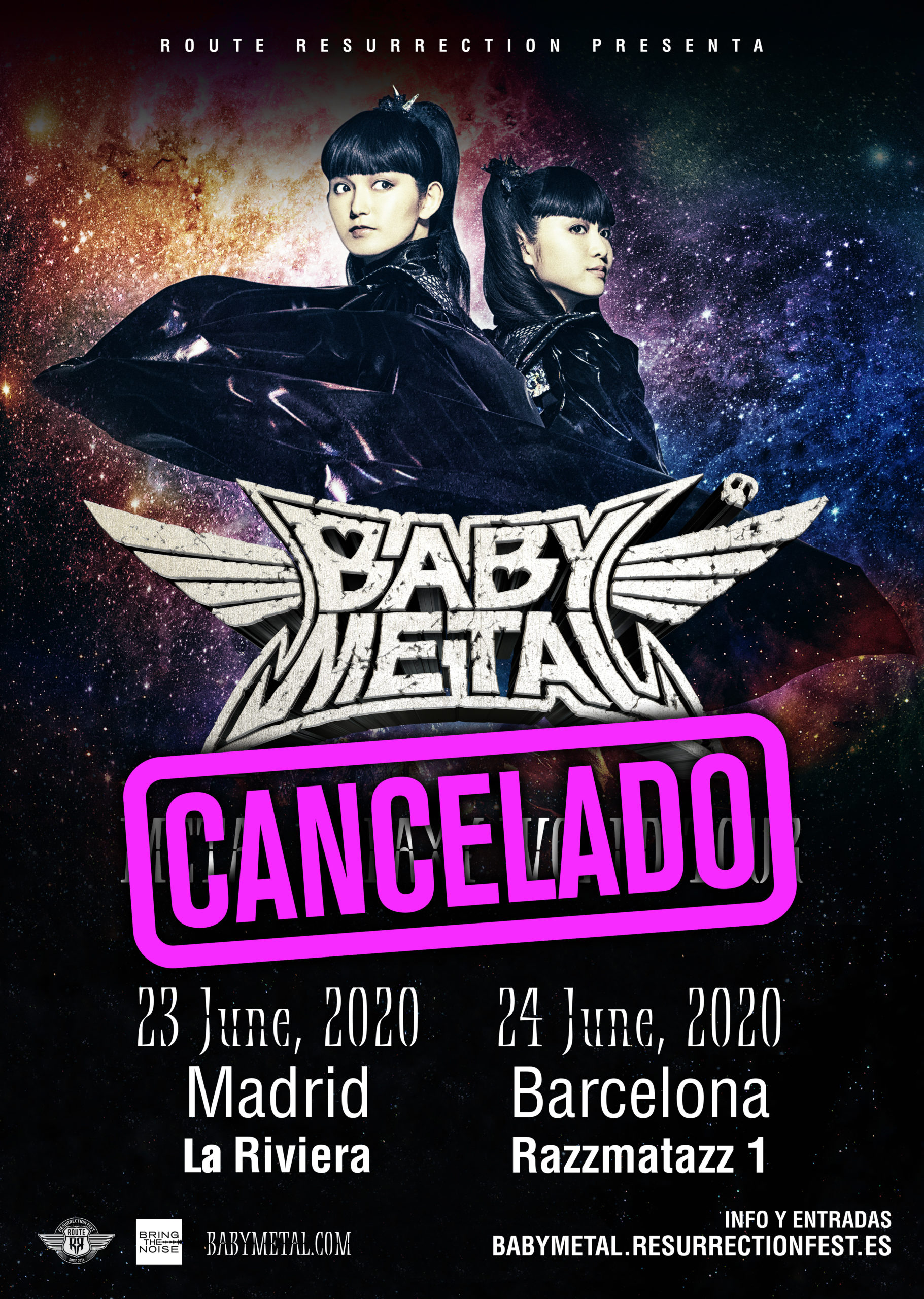 Route Resurrection 2020: Babymetal (Barcelona)