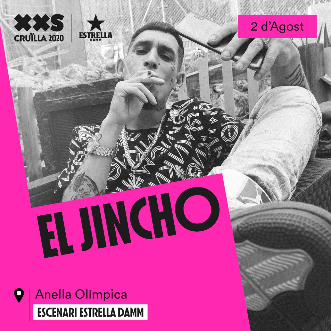 El Jincho actuará en el Crüilla XXS
