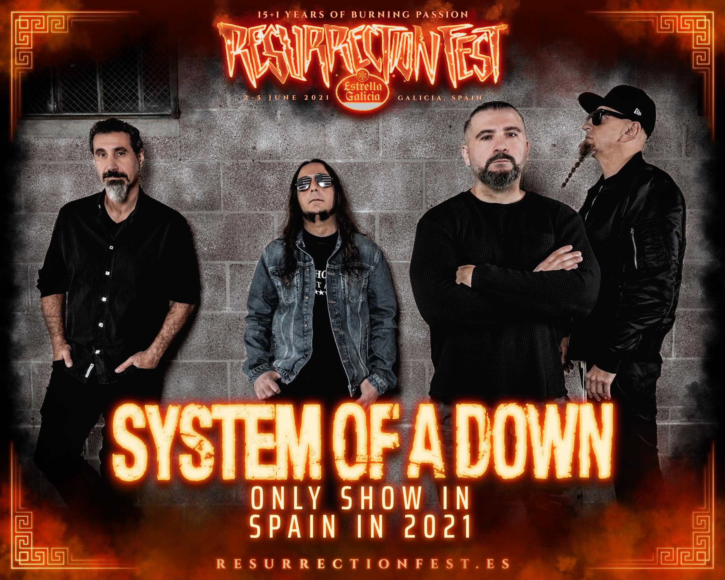 System Of A Down Deutschland 2021